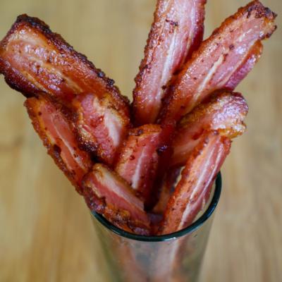 Smoked Pork Maple Bacon