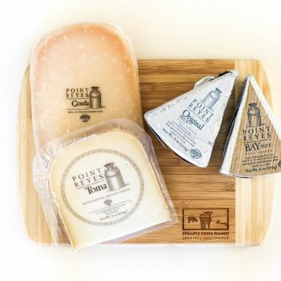 The Best of Point Reyes Cheese Flight