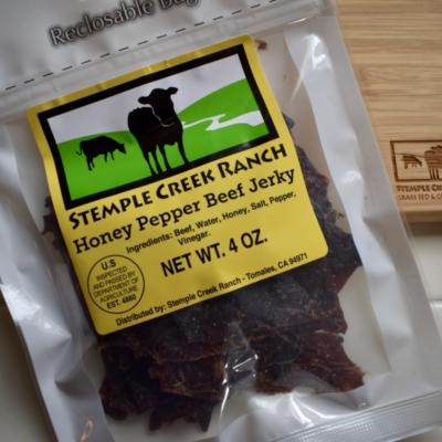 Honey Pepper Beef Jerky