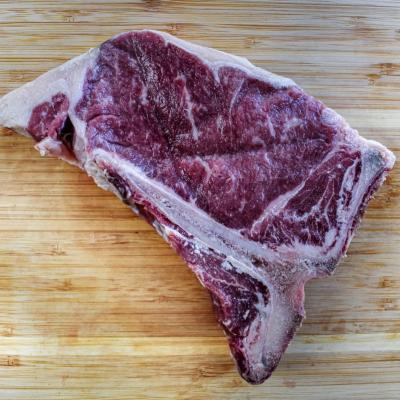 Dry-Aged T-Bone Steaks (Bone-In)