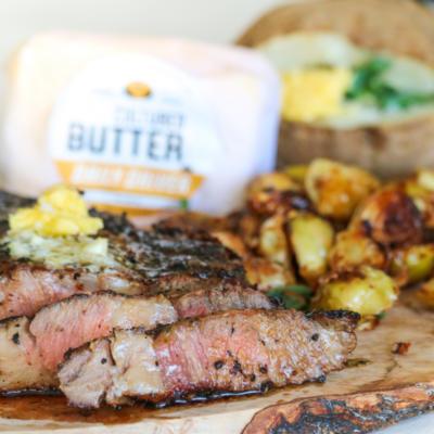 Reserve Steak & Green Garlic Butter Box