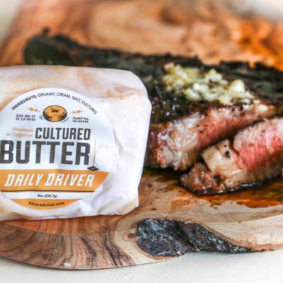 Daily Driver's Green Garlic Butter