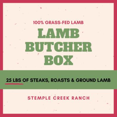Lamb Butcher Box