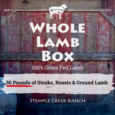 Whole Lamb Box