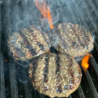 Beef & Bacon Hamburger Patties