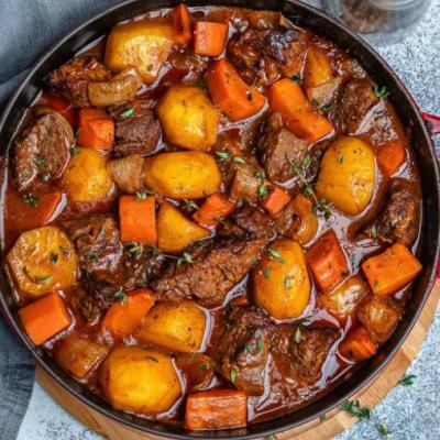 Cubed Pork Stew Meat
