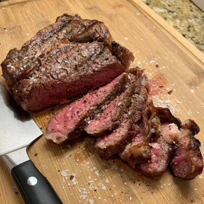 Dry-Aged Beef Ribeye Steak
