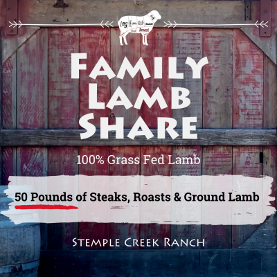 Family Lamb Share