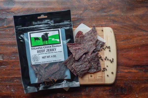 Stemple Creek Ranch Salt & Pepper Beef Jerky