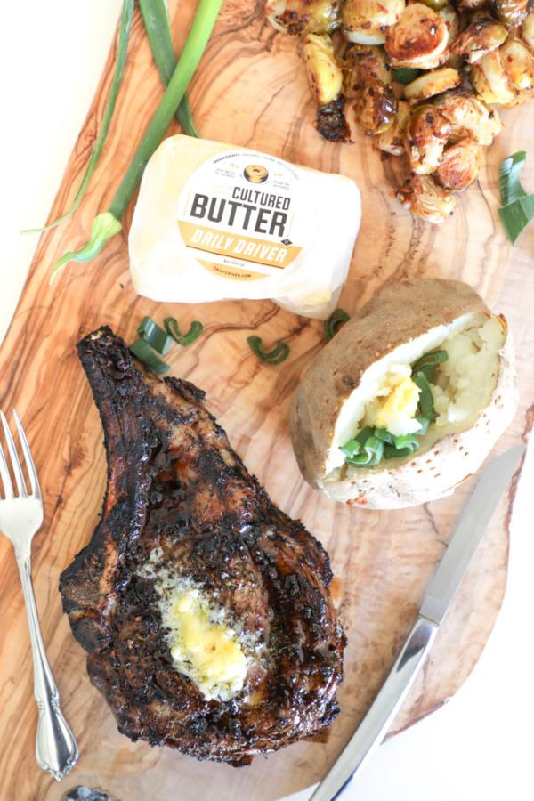 Stemple Creek Ranch Daily Driver Green Garlic Butter