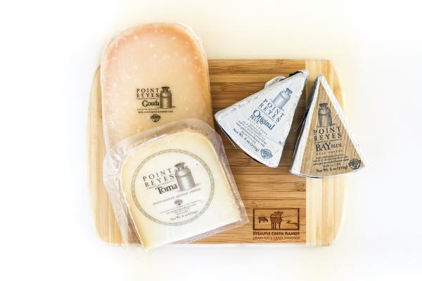 Stemple Creek Ranch The Best of Point Reyes Cheese Flight