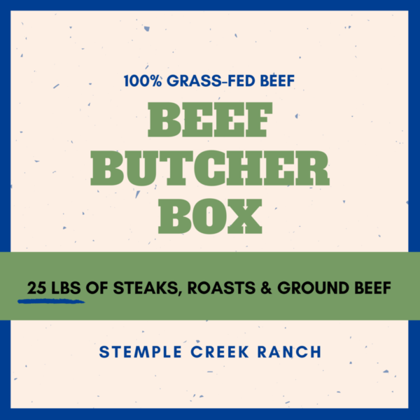 Stemple Creek Ranch Beef Butcher Box