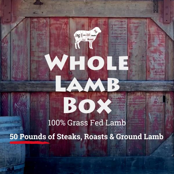 Stemple Creek Ranch Whole Lamb Box