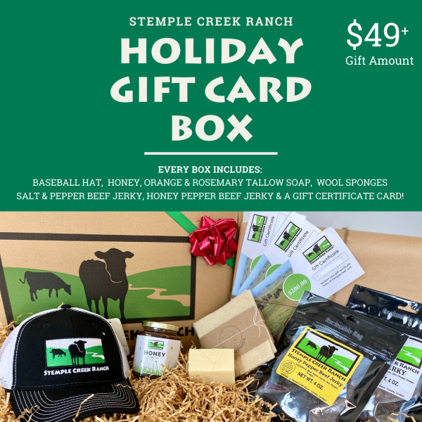 Stemple Creek Ranch Holiday Gift Card Box