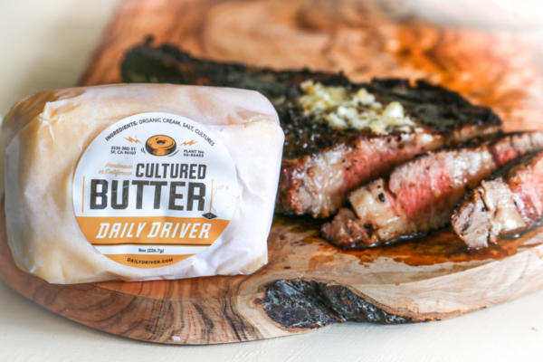Stemple Creek Ranch Daily Driver's Green Garlic Butter