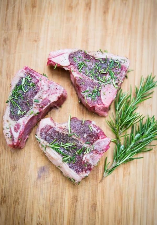Stemple Creek Ranch Lamb Loin Chops (4 Pack)