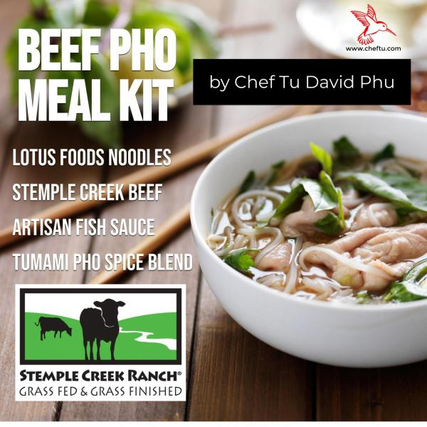 Stemple Creek Ranch Beef Pho Meal Kit