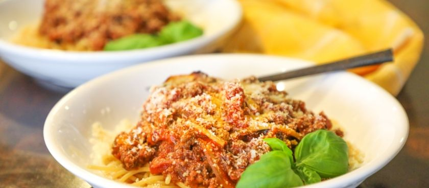 30 Minute Fast & Easy Meal Planner: Ground Beef Spaghetti Sauce