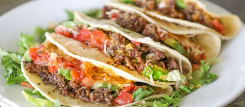 30 Minute Fast & Easy Meal Planner: Ground Beef Soft Tacos