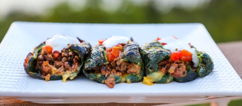 30-Minute Meals: Grilled Stuffed Poblano Peppers
