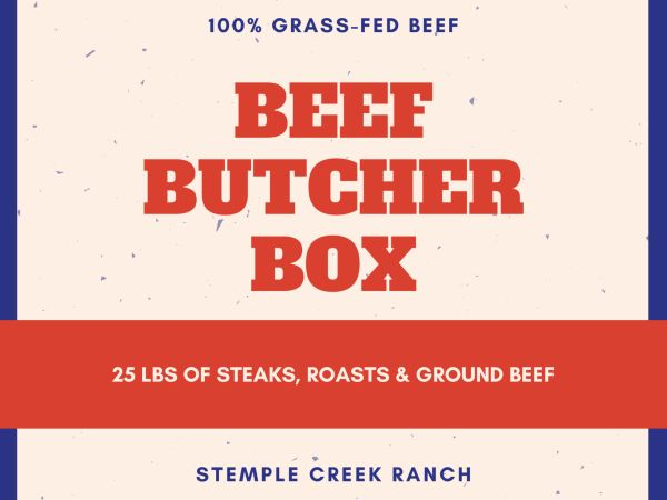 Stock up with our Beef Butcher Box!