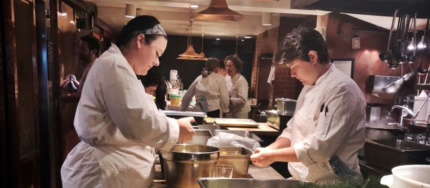 In The Kitchen At Chez Panisse!