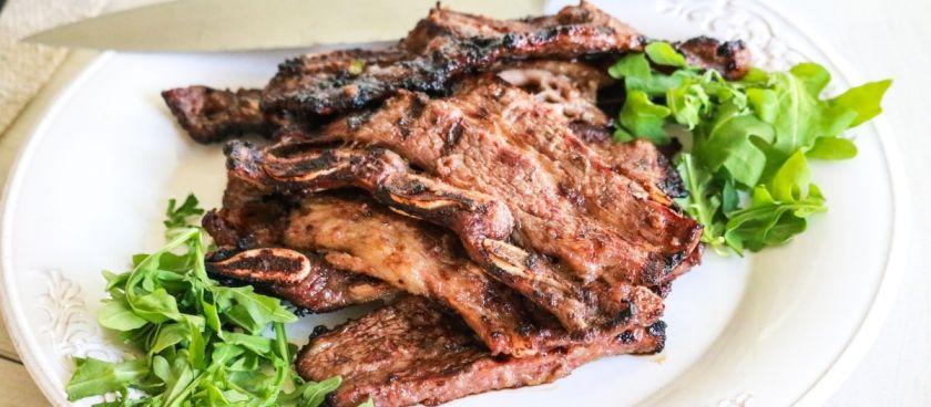 Keto-friendly Grilled Korean Beef Short Ribs