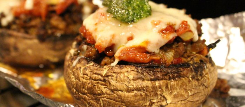 30-Minute Meals: Keto Stuffed Portobello Mushrooms