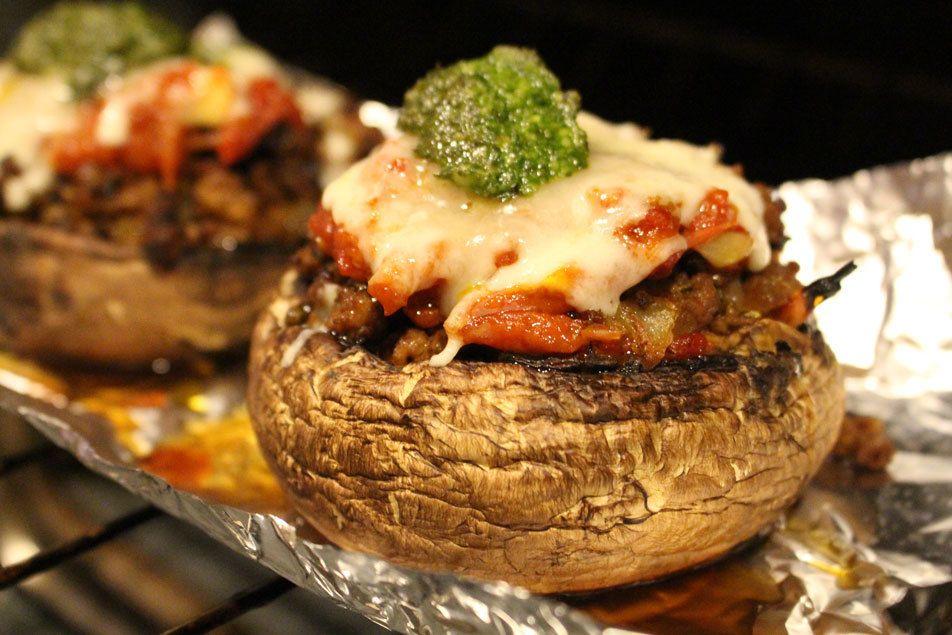Stuffed Portobello Mushrooms